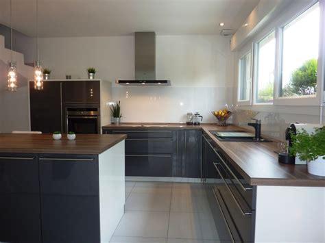 mod鑞e de cuisine ouverte cuisine ouverte photo 1 6 cr 233 dence pos 233 e pour un rendu