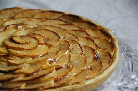 tarte aux pommes pate feuilletee compote ma p 226 tisserie tarte aux pommes et 224 la compote de pommes