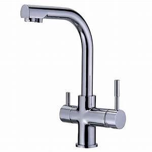Robinet 3 Voies : robinet mitigeur 3 voies forum mf chrome pour triple flux ~ Voncanada.com Idées de Décoration