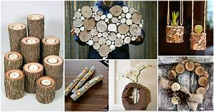 DIY Log Crafts That You Will Have To See