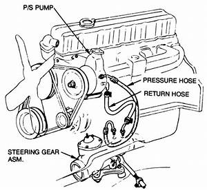 Need Diagram For Power Steering And Serp  Belt 72 Nova 250
