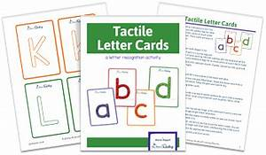how to teach the alphabet to preschoolers 8 free With tactile letter cards