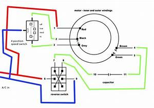 Fan Motor Capacitor Wiring Diagram