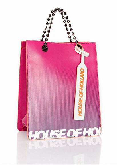Tote Bag Leather Bright Houseofholland