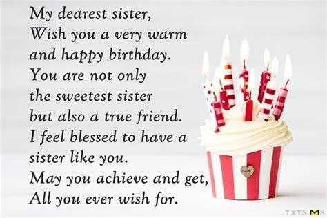 happy birthday wishes  sister quotes messages images  facebook whatsapp picture sms