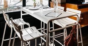 Table Haute 4 Personnes : table haute luxembourg table de jardin 4 personnes ~ Melissatoandfro.com Idées de Décoration