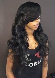 1000 Ideas About Cute Weave Hairstyles On Pinterest
