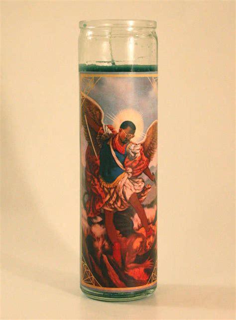 canonized famous faces celebrity saint candles