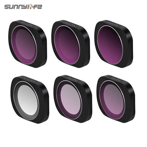sunnylife adjustable cpl ndpl  pl  pl   lens filter  dji osmo pocket