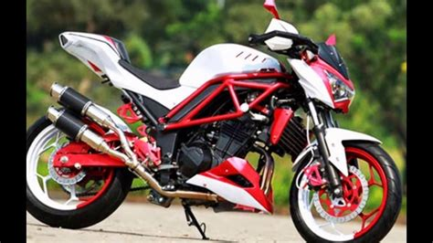 Z250 Modifikasi by 90 Modifikasi Motor Z250 Sobat Modifikasi