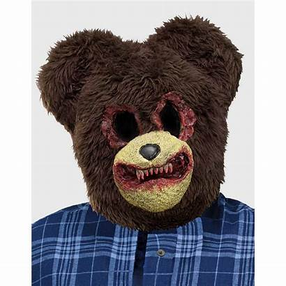 Bear Scary Mask Halloween Teddy Masks Bloody
