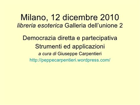Libreria Esoterica Galleria Unione by 12 Dicembre 2010
