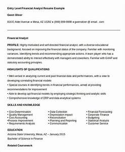 23 finance resume templates pdf doc free premium With entry level finance resume