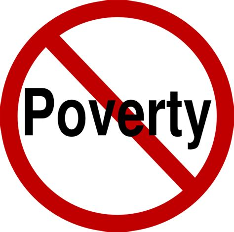 No Clipart No Poverty Clip At Clker Vector Clip