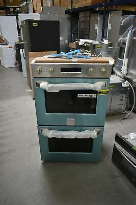ge monogram zetphss  stainless double electric wall oven nob  hrt ebay