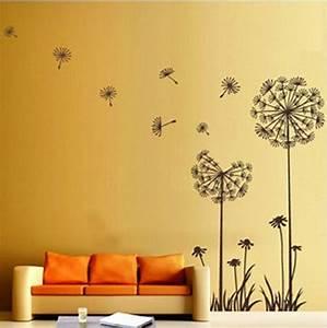 Dandelion Flower Wall Decoration - Wall Decoration ...
