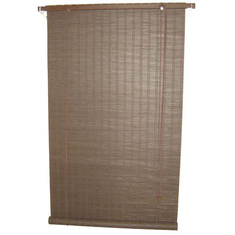 cuisine en bambou store enrouleur tamisant bois tissé brun chocolat n 2