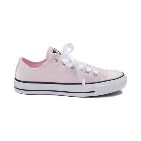 light pink converse converse chuck all lo velvet sneaker light