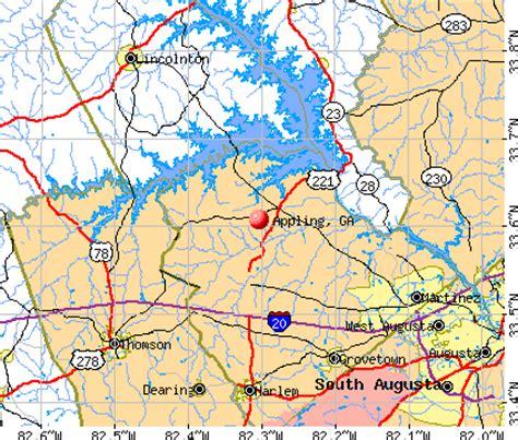 ga offender map appling georgia ga 30802 profile population maps