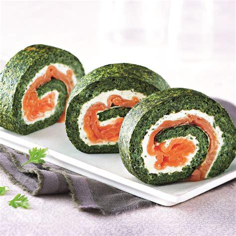 cuisine sous vide roulé aux épinards au saumon et au boursin de demarle