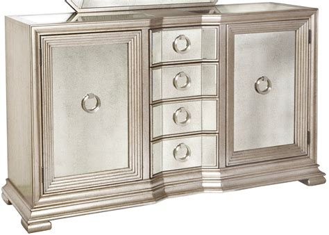 Silver Sideboard by Couture Silver Sideboard From Pulaski Coleman Furniture