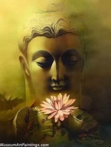 Handmade Buddha Paintings for Sale - Buddha Face