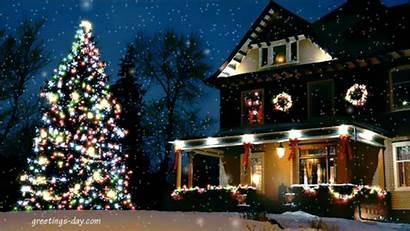 Christmas Merry Animated Gifs Greetings Lights Happy