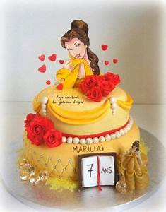 Décoration Gateau La Belle Et La Bete : 17 best ideas about belle cake on pinterest princess belle party disney cakes and princess ~ Melissatoandfro.com Idées de Décoration