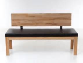 sitzbank mit lehne esszimmer hochwertige bank mit lehne 130cm 150cm holzbank sitzbank massiv massivholz luca ebay