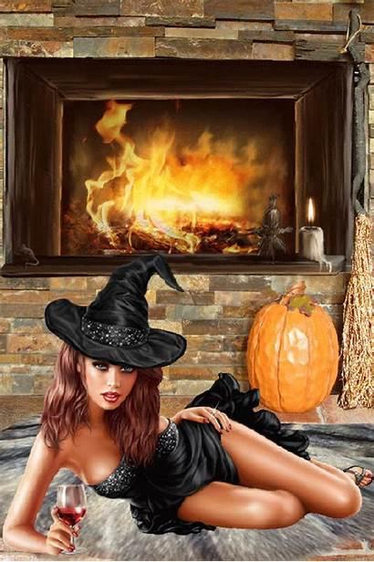 Halloween Gifs Witch Fantasy Witches Happy Encontradas