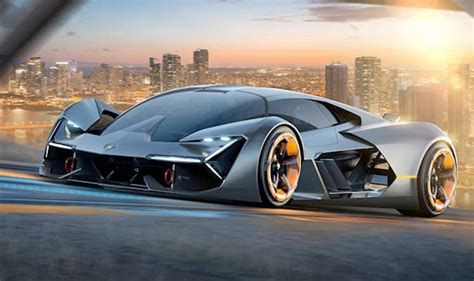 Fully Electric Sports Car by Lamborghini S New Fully Electric Hypercar Has Self Healing