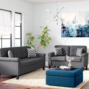 leather livingroom sets modern contemporary living room sets you 39 ll wayfair
