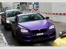 Matt Purple BMW M6 Tuned by GPower Hides Some Serious