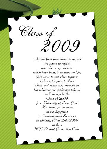 what to say at a preschool graduation graduation invites template best template collection 266
