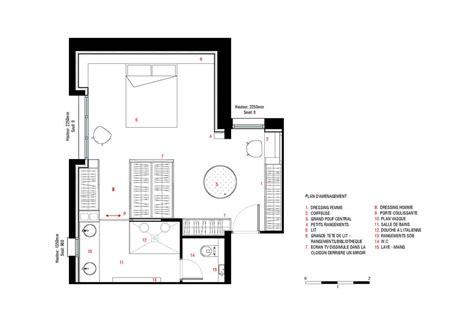 plan chambre salle de bain dressing plan chambre parentale dressing et gascity for