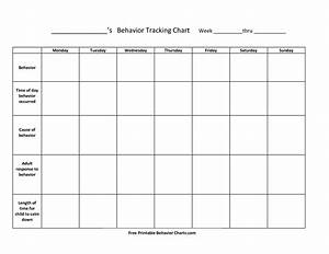 Free Printable Behavior Charts For Teachers