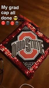 Ohio State Buckeyes Designs Ohio State Graduation Cap Design Graduation Cap Designs