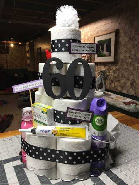 60th birthday cake ideas for a man. Homebody Happenings: Toilet Paper CAKE!