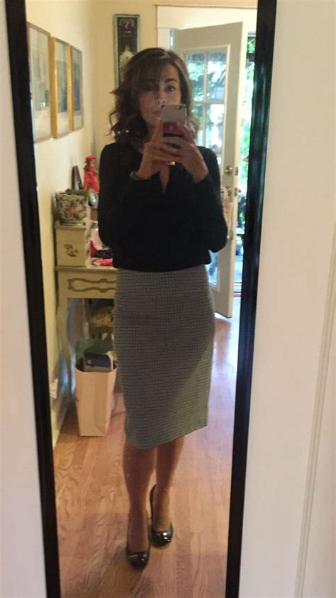 margaret  christiana printed pencil skirt stitch fix
