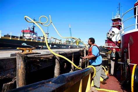 Tugboat Deckhand by The Lure Of The Tug Wsj