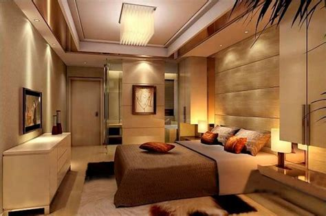Luxury Master Bedroom Design Ideas Glass Stand Tv Cabinet