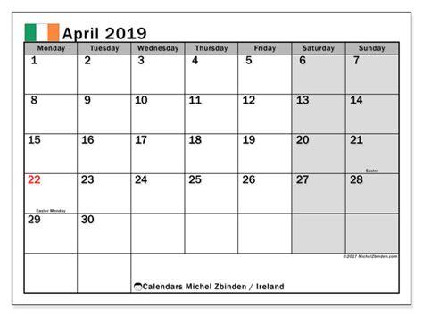 april calendar ireland michel zbinden en