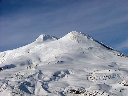 Europe Mountain Highest Elbrus Russia Peak Range