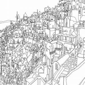 disegni da colorare per adulti città mondo 09 KEBLOG