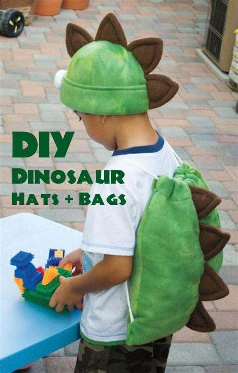 diy dinosaur favor bags hats spaceships  laser beams