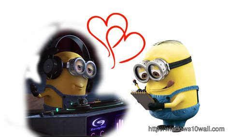 minions  love background wallpaper windows  wallpapers