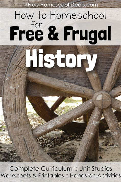 How to Homeschool for FREE and Frugal: History! (New Series!)