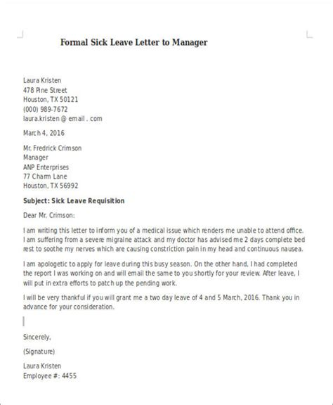 samples examples tips    write  leave letter