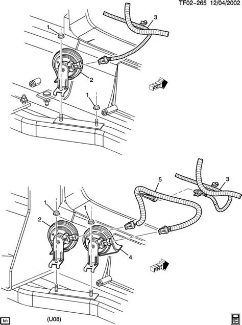 Gmc Topkick Chevy Kodiak Dual Horn Wire Harness