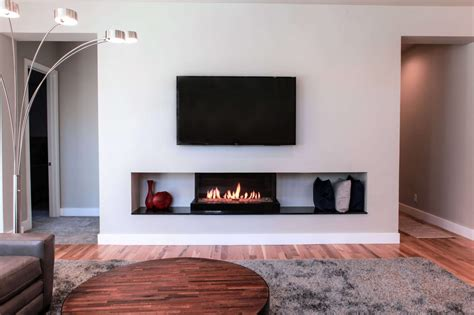 cool touch wall fireplace feature flare fireplaces